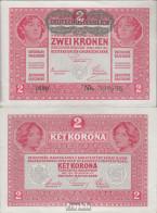 Österreich Kat-Nr.: 170 (50) Bankfrisch 1919 2 Krone - Oesterreich