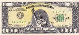 One Million Dollars 1.000.000  (UNC, FDC, Perfect)...american Dream - Etats-Unis