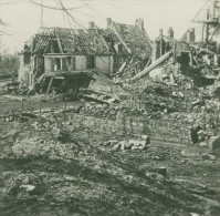 France WWI Ham Somme Ruines Apres Explosion De Mines Ancienne Photo SIP 1914-1918 - War, Military