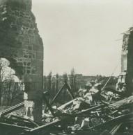 France WWI Ferme Dynamitee Ruines Destruction Ancienne Photo SIP 1914-1918 - War, Military