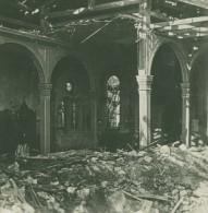 France WWI Verdun Eglise Du Faubourg Pave Ruines Destruction Ancienne Photo SIP 1914-1918 - War, Military