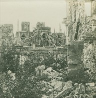 France WWI Reims Cathedrale Ruines Bombardements Ancienne Photo SIP 1914-1918 - War, Military