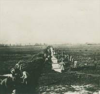 Grece WWI Troupes Au Travail Champ De Bataille Ancienne Photo SIP 1914-1918 - War, Military