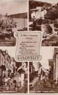POSTCARD A WEST COUNTRY LITANY CLOVELLY - Clovelly