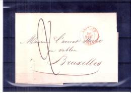 Lettre De Louvain Vers Bruxelles - 10-fév-1846 (à Voir) - 1830-1849 (Belgique Indépendante)