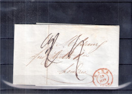 Lettre De Gand Vers Londres - 28-juin-1849 (à Voir) - 1830-1849 (Belgique Indépendante)
