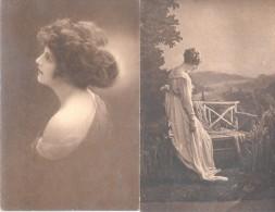 AMAG GRAVURE - LABORATORIOS SOUBERAIN CHOBET FUNDADOS EN 1912  LOTE DE 2 CPA DIFERENTES UNCIRCULATED DOS DIVISE - Health
