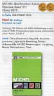 Michel CHINA Katalog 2015 Neu 84€ Ostasien Band 9 Teil 1 Stamps Chine Macao Hongkong Taiwan Tibet ISBN 978-3-95402-133-8 - Sammlungen