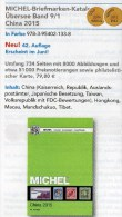 Michel CHINA Katalog 2015 Neu 84€ Ostasien Band 9 Teil 1 Stamps Chine Macao Hongkong Taiwan Tibet ISBN 978-3-95402-133-8 - Alte Papiere