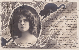 Photo Reutlinger De L'artiste De Vère (style Art Nouveau - Chat) - Entertainers
