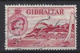 Gibralter 1953-59 QEII  (o) Mi.138 - Gibraltar