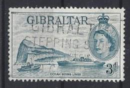 Gibralter 1953-59 QEII  (o) Mi.139 - Gibraltar