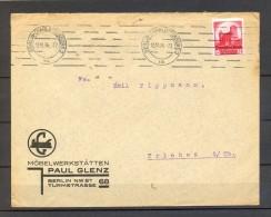 1934 BERLIN - CHARLOTTENBURG , SOBRE COMERCIAL CIRCULADO A TRIEBES - Cartas