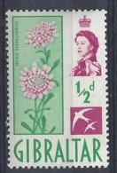 Gibralter 1960  QEII  (*) MH  Mi.149 - Gibraltar