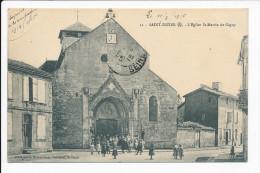 Carte De SAINT DIZIER  L' église Saint Martin De Gigny  ( Correspondance Militaire ) ( Recto Verso ) - Saint Dizier