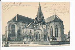Carte De SAINT DIZIER  L´ église De Lanoue  ( Correspondance Militaire ) ( Recto Verso ) - Saint Dizier