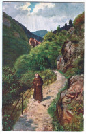 4210     Cpa   DUSENBACHTAL  Mit Dusenbachkapelle  1911   ( Cachet Rappoltsweiler  Carolabad A. G . !  ) - Sin Clasificación