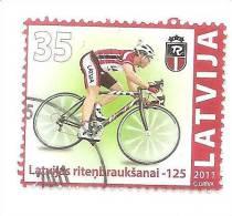 Latvia 2011 Biking ,Latvian Cycling - 125  USED  (0) - Lettland