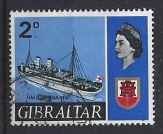 Gibralter 1967  Ships  (o) Mi.190 - Gibraltar