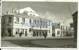 10697 ARGENTINA SANTA CRUZ RIO GALLEGOS CINEMA CINE CARRERA  PHOTO NO POSTAL POSTCARD - Old Paper