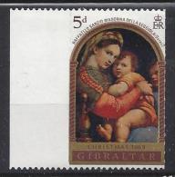 Gibralter 1969  Weihnachten   (*) MH  Mi.233 - Gibraltar