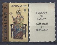 Gibralter 1972  Weihnachten  (*)  MH  Mi.293 - Gibraltar