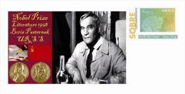 Spain 2015 - Nobel Prize 1958 - Literature - Boris Pasternak/U.R.S.S. Special Cover - Prix Nobel