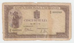 ROMANIA 500 LEI 1941 P 51 - Romania