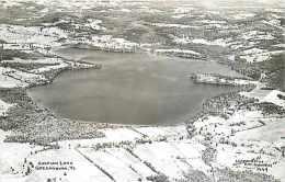 248891-Vermont, Greensboro, RPPC, Caspian Lake, Aerial View, HW Richardson Photo No 1449 - United States