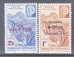 MADAGASCAR   B 13-14    **    VICHY - Madagascar (1889-1960)
