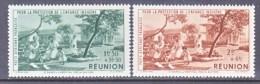 REUNION  ISLAND  C B 2-3   **    VICHY - Airmail