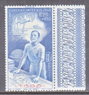TOGO  CB 3   **    VICHY - Unused Stamps