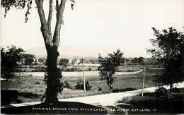 248903-Vermont, Rutland, RPPC, Billings Bridge From Otter Creek Tea Room, Photo No 11 - Rutland