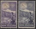 NEW ZEALAND 1954 HEALTH HIKER SET MNH - New Zealand