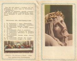 SANTINO  GESU' CROCIFISSO - Images Religieuses