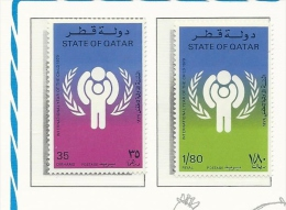 Qatar  1979 International Year Of Child Set MNH - Qatar