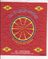 PAPIER D´ORANGE- CARTA ARANCE - INVOLUCRO ARANCE - ORANGE PAPER AL HASSAN CITRUS EGYPT - Altre Collezioni