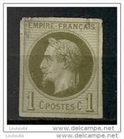 Timbres - France (ex-colonies Et Protectorats) - Emissions Générale - Napoléon III - 1 C - N° 7  -