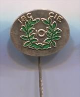 ISC CIE - Holland Netherlands, vintage pin badge