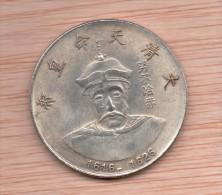 Moneda CHINA Replica EMPERADOR NURHACI - 1616 / 1626 - China