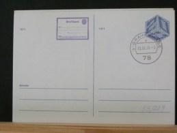 53/229    CP   P.B.   OBL. - Postal Stationery