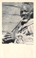 ¤¤  -   Afrique Noire  -  Vieillards Fumant La Pipe  -  Carte De La Compagnie De Navigation Cyprien Fabre Et Fraissinet - Postcards