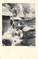 ¤¤  -   Afrique Noire  -  Village De L'Intérieur  -  Carte De La Compagnie De Navigation Cyprien Fabre Et Fraissinet - Postcards