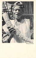Afrique Noire  - Une Pointe D'IVOIRE Finement Ciselée  - Carte De La Compagnie De Navigation Cyprien Fabre Et Fraissinet - Postcards
