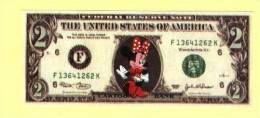 Billet De 2 DOLLARS MINNIE (N° 482/2) - Disney