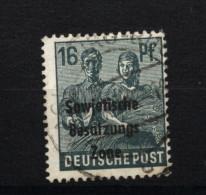 SBZ,188b,o,gep. - Sowjetische Zone (SBZ)