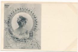 Jack ABEILLE - REUTLINGER  -  S, Munte - Art Nouveau,  Femme - Janser