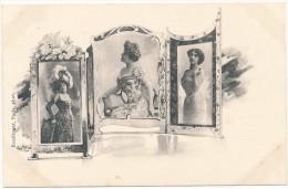 Jack ABEILLE - REUTLINGER  - Art Nouveau,  Femmes, Cadres - Janser