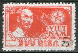 VIETNAM Du Nord: N°80M NSG (surch.noire)    - Cote18€ -