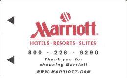 TARJETA DE HOTEL MARRIOTT (KEY CARD-LLAVE) - Cartas De Hotels